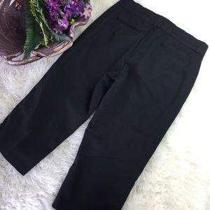 Dockers Black Capri Pants Size 10